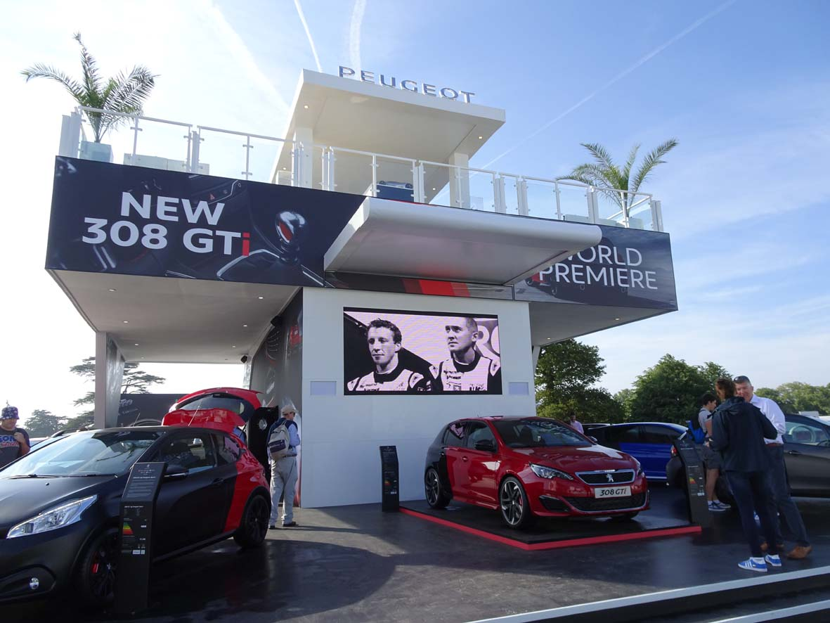 Peugeot at Goodwood Festival of Speed