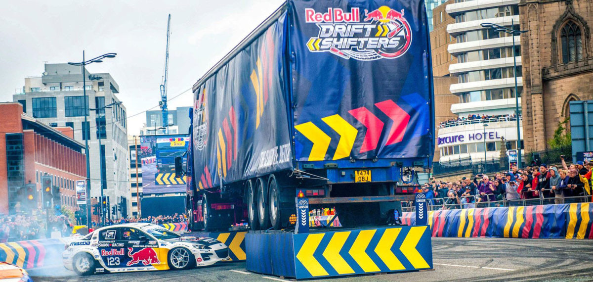 Red Bull Drift Shifters came to Liverpool